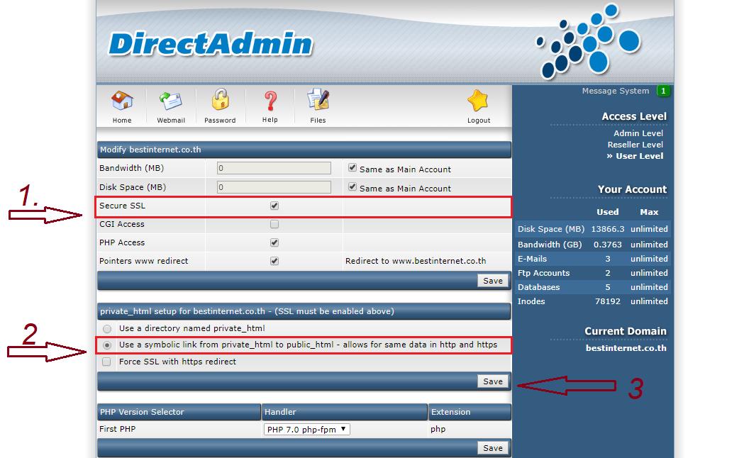 install-ssl direct admin free